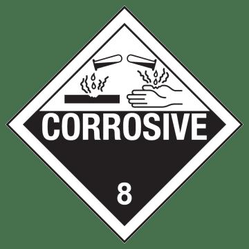 Class 8: Corrosive Substances