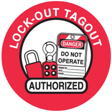 Lockout Tagout Authorized