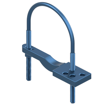 U-Shaped Pipe Clamps