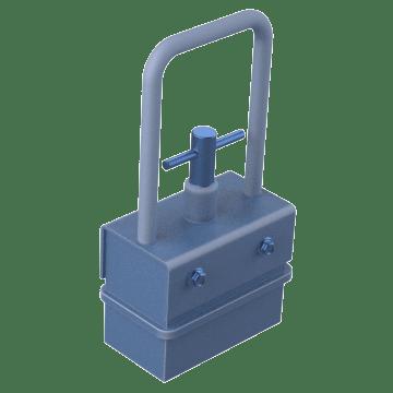 Light-Duty Release-Lever Magnets for Bulk Materials