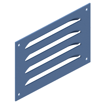 Enclosure Windows & Louver Plate Kits