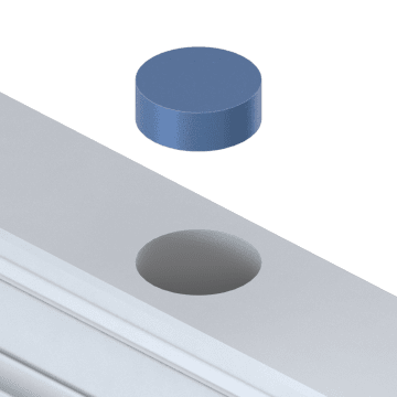 Linear Rail Plugs