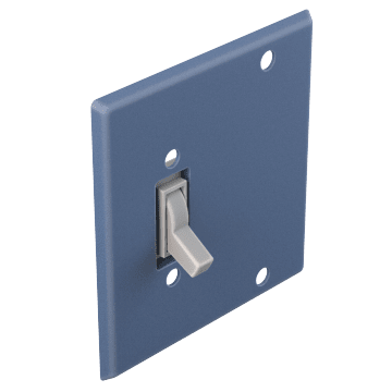 Toggle Switch & Blank Plates