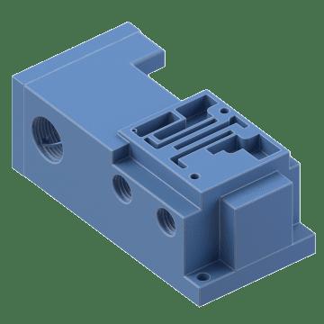 Modular DIN Plug-In Series Manifolds