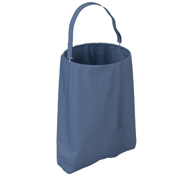 Portable Litter Bag with Shoulder Strap