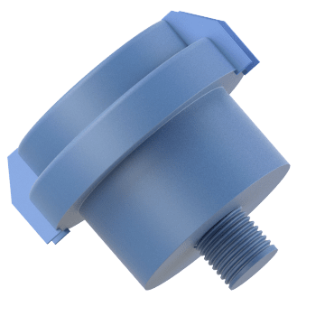 Plastic Housing Filter Silencers