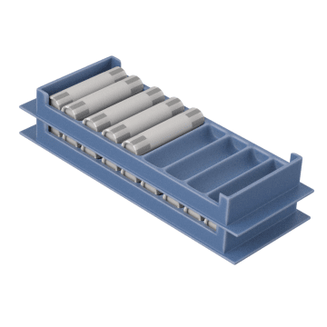 Stackable Rolled Coin Tray