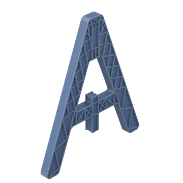 Modular Barricade Legs