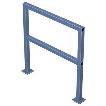 Square Pipe Handrails