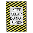Keep Clear Do Not Block