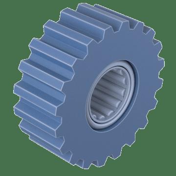 Heavy Duty Steel Flat-Top Idlers