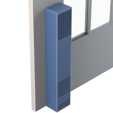 Low-Profile Gas Wall Furnaces