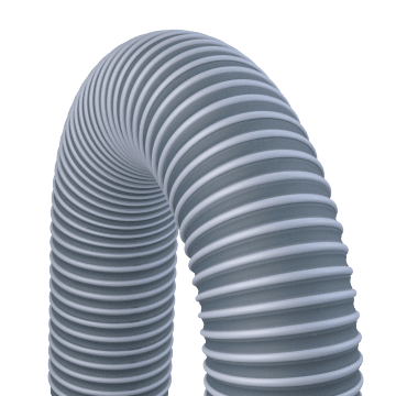 Abrasion- & Crush-Resistant Hose for Fumes & Dust