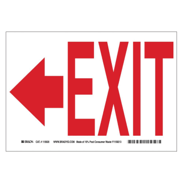 Exit (Left Arrow)