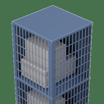 Caged for Bulk Storage