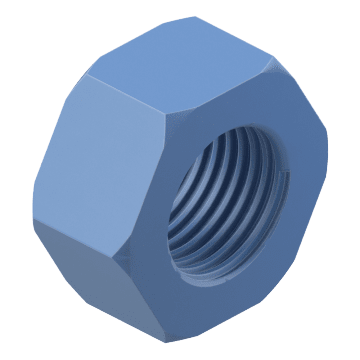 Channel Hex Nuts