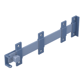 Padlockable Heavy Duty Surface Bar