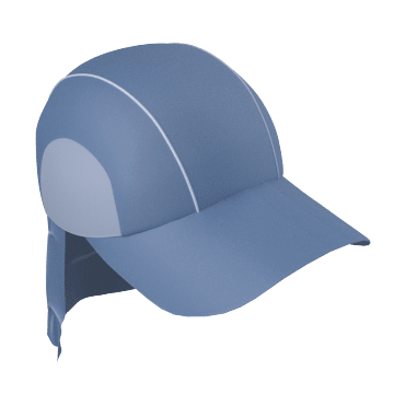 Cooling Hat with Neck Shade