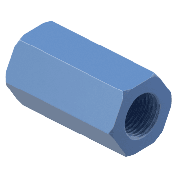 Threaded-Rod Couplings