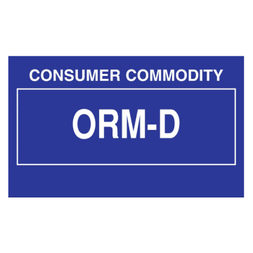 Consumer Commodity ORM-D