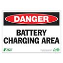 Danger Battery Charging Area