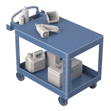 Combination Lipped & Flush Shelves