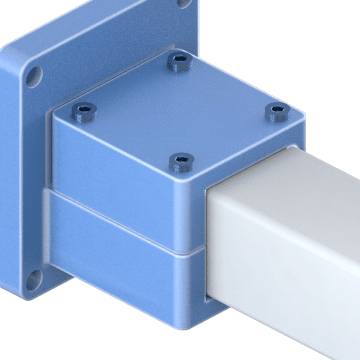 End Supports for Square Linear Rails