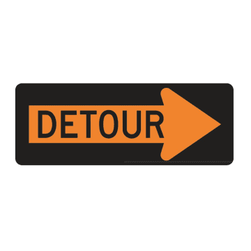 Detour (Right Arrow)