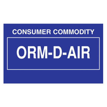 Consumer Commodity ORM-D-Air