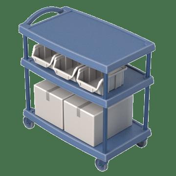 Adjustable-Height Shelves