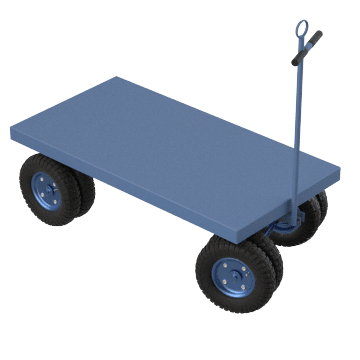 Towable Easy-Load Flush Deck