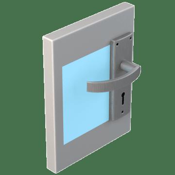 Door Handle & Doorknob Markers