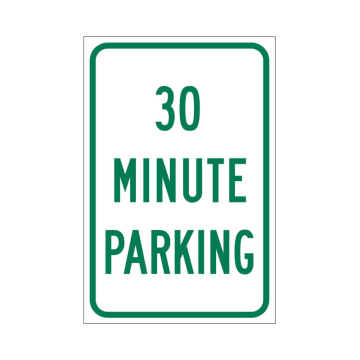 30 Minute Parking