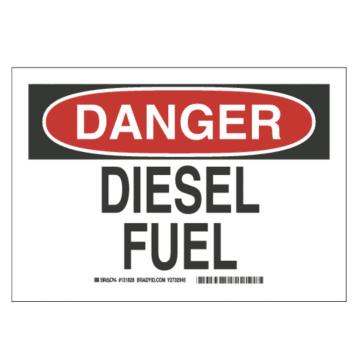 Danger Diesel Fuel