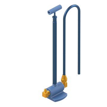 T-Handle Pumps for Refrigeration Oil