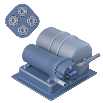 Quad-Chamber Complete Water Systems