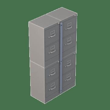 Cabinet-Locking Bars
