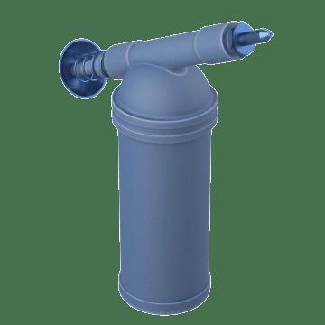 Miniature Push-Pumps for Confined Spaces