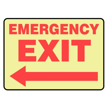 Emergency Exit (Left Arrow)