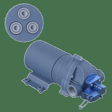 Tri-Chamber Moderate Pressure Demand