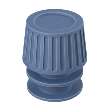 Test Tube Caps with Flanged Plug