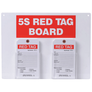 Standard Red Tag Station