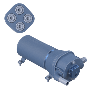 Quad-Chamber  High-Flow Demand