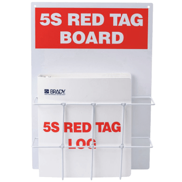 Red Tag Binder Station
