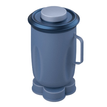 Containers for Benchtop Blenders
