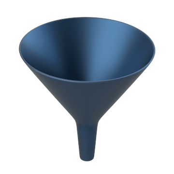 Stainless Steel Funnels