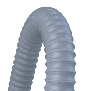 Lightweight Hose for Dust, Chips, & Oil Mist