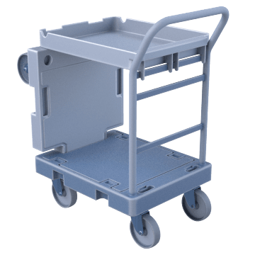 Convertible Platform & Shelf