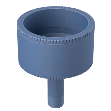 Grease Cartridge Adapters for Air-Powered Pumps