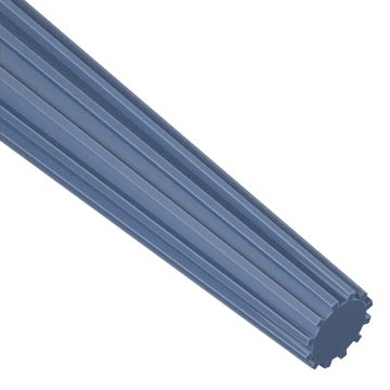 Straight-Flute Taper Pin Hand Reamers
